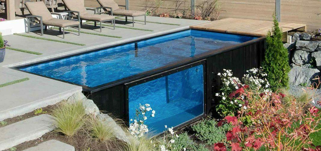 container zwembad