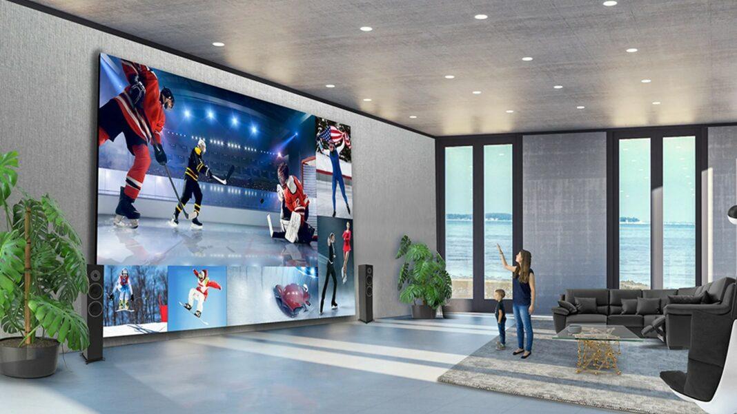 LG televisie