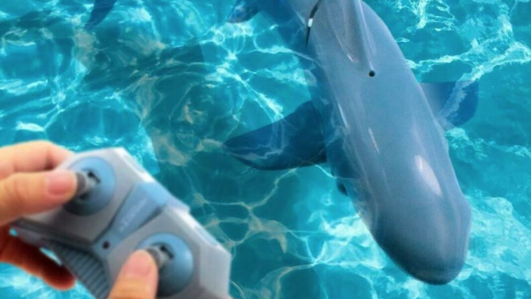 bestuurbare haai gadget